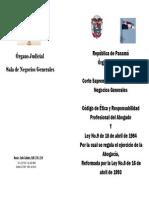 Codigo de Etica Del Cna Panama