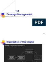 Chapter 11 - Earnings Management