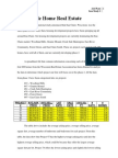 Case Study 1-Real Estate
