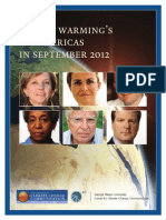 Global Warming's Six Americas, September 2012