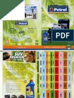 Catalogo de Produtos PETROL