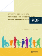 Resource Guide - Students With Autism Spectrum Disorders