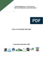 Plan Maestro Bocas Del Polochic
