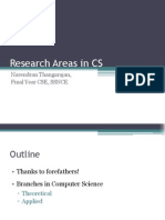 Areas in CS