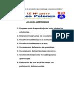 Los 8 Compromisos y Aprendizajes Fundamentales