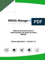 13 MSSQL Manager User Guide