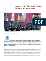 China's Approach to FTAs With Other Countries What Can Sri Lanka Expect