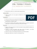 Solución 1 - Tierra y Polvo DISAL