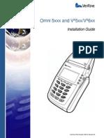Verifone Vx5xx Installation Guide