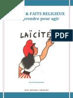 Livret de Formation Laicite