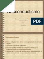 Clase Neoconductismo (2)