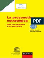 La Prospectiva Estrategica GODET DURANCE 2011
