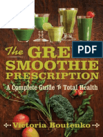 The Green Smoothie Prescription (an excerpt)
