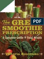 The Green Smoothie Prescription (an excerpt)