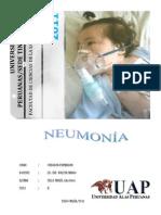 Neumonía Proceso de Enfermería