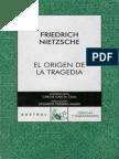 Nietzsche - El Origen de La Tragedia - Austral