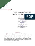 Toward Theology of Business - VanDuzer Et Al