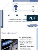 Competing with Facebook Pages