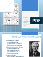 2. Teorías Conductuales
