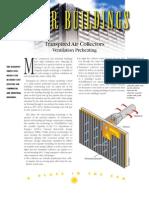 U.S. Department of Energy - DOE - Solar Buildings (SolarWall) - solar air heat