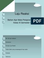 Nurul Safitry 06121010003 Laju Reaksi