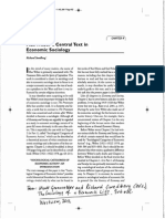 2011 Max Weber's Central Text in Economic Sociology