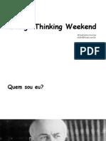 Design Thinking Weekend