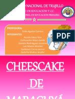 Cheescake de Maracuyá