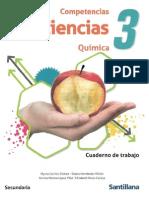 Competencias Ciencias 3 Quimica Cuaderno de Trabajo