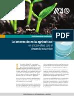 La Innovación en La Agricultura (IICA)