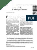 [Artículo] Cadenas de Suministro Verdes, Una Respuesta Al Desempeño Ambiental