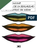 Foucault Michel Historia de La Sexualidad 1