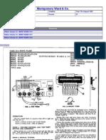 Montgomery Wards Model 62-552 diagrams