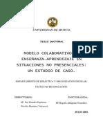 Tesis - Modelo Colaborativo de Enseñanza en Situaciones No Presenciales