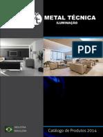 Catalogo de Luminárias Decorativas - Metal Técnica