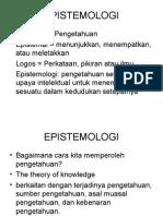 Epistemologi Slide