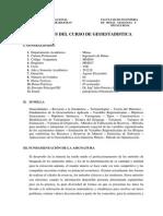 Syllabus GEO 2012-II
