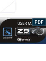 Z9 Manual BlueAnt Esp