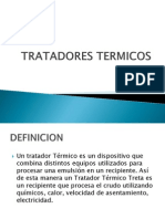TRATADORES TERMICOS