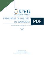 Diez Principios de Economia