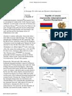 Armenia - Wikipedia, The Free Encyclopedia