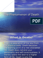 The Phenomenon of Death