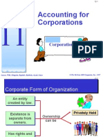 topic 11 - accounting for corporations