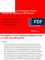 The Impact of Low Frequency Ripple Current on LEDs and LED Drivers - Texas Instruments