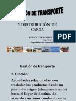 1. Gestión de Transporte y Distribución de Carga