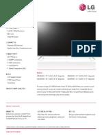 LB5800 Series Spec Sheet