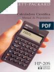 Manual Calculadora Científica Hp 20s