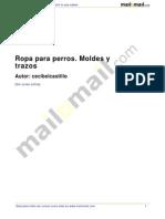 Ropa Perros Moldes Trazos 38446