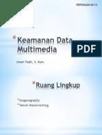 Keamanan Data Multimedia