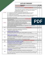 Lista de Chequeo ISO 14001-2004